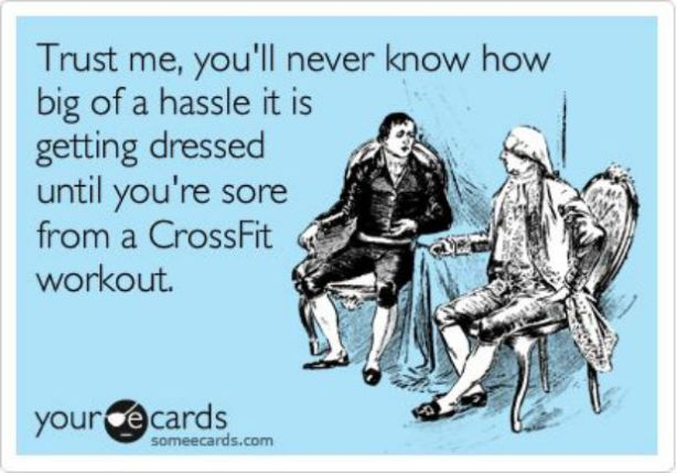 Crossfit obsession