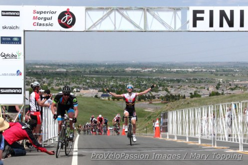 Chris Winn nets his third victory in the Superior Morgul road race